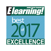 Best of Elearning 2017 award