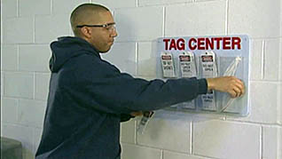 keeping track of your lockout/tagout