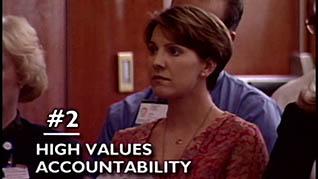 Organizational Values: Ethics Screenshot