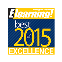 eLearning Magazine Best of 2015 winner