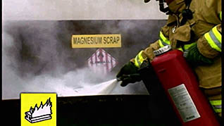 fire extinguisher training for employees that work with metals