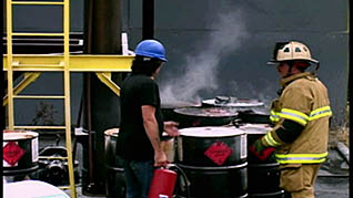 fire extinguisher training for employees that work with chemicals