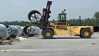 Safely operating high-impact forklifts