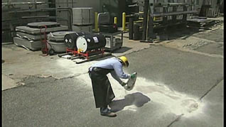 what to do after a non-emergency hazmat spill response