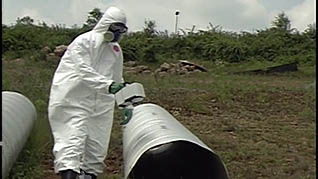 Hazwoper procedures and equipment in open fields