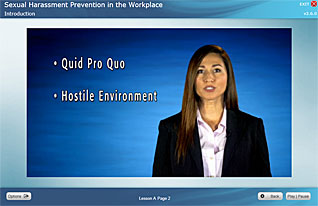 Harassment video training Sexual prevention