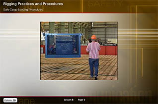 Safe rigging practices and procedures for the offshore oil and gas