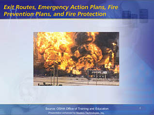 Fire safety action plan