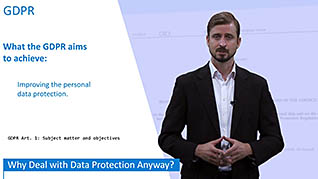 General Data Protection Regulation course images