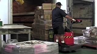 Safely unloading delivery vehicles